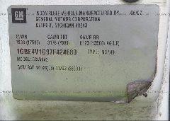 2008 CHEVROLET C4500 - 1GBE4V1G97F424680 engine view