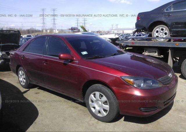 Inventory #951820397 2003 Toyota CAMRY