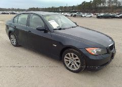 2007 BMW 328 - WBAVC73577KP35227 Left View