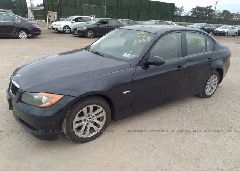 2007 BMW 328 - WBAVC73577KP35227 Right View