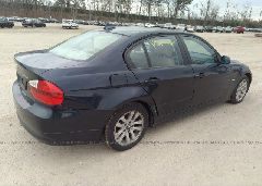 2007 BMW 328 - WBAVC73577KP35227 rear view