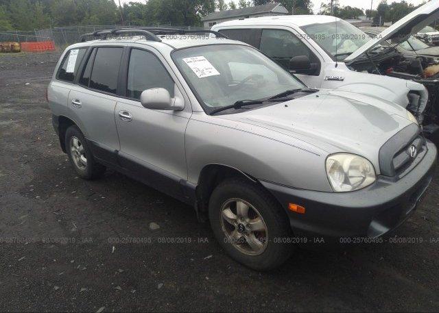Inventory #933187566 2006 Hyundai SANTA FE