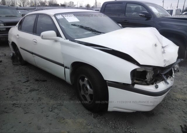 Inventory #915490213 2002 Chevrolet IMPALA