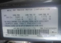 2005 Mazda 3 - JM1BK323951231170 engine view