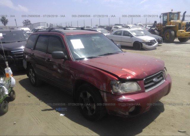 Inventory #709444620 2003 Subaru FORESTER