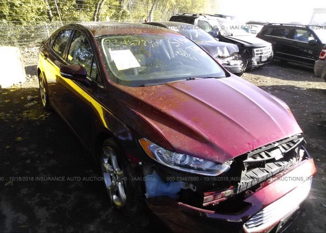 Inventory #676449994 2014 FORD FUSION