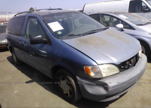 Inventory #203143078 2001 Toyota SIENNA