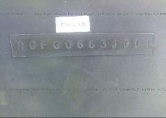 2001 MONTEREY OTHER - RGFG0663J001 engine view