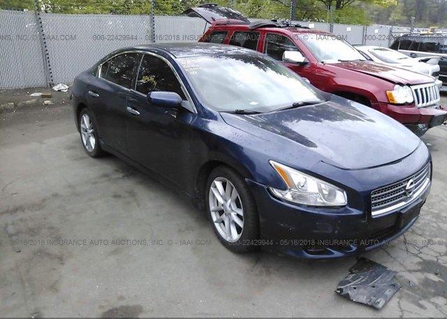 Inventory #881505062 2009 Nissan MAXIMA