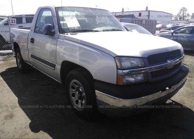 Inventory #655678439 2005 Chevrolet SILVERADO