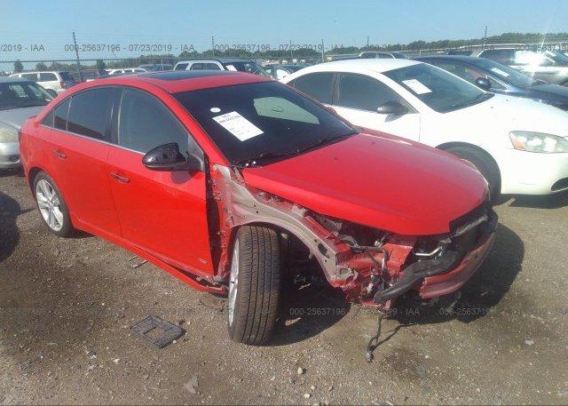 Inventory #865123907 2015 Chevrolet CRUZE