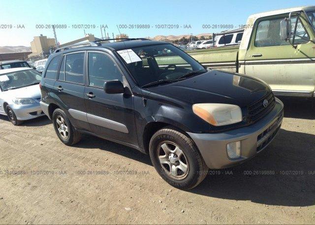Inventory #761662968 2003 Toyota RAV4
