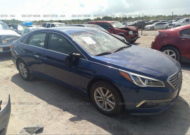 Inventory #731037737 2015 Hyundai SONATA