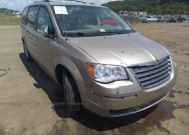 Inventory #746634654 2008 Chrysler TOWN & COUNTRY