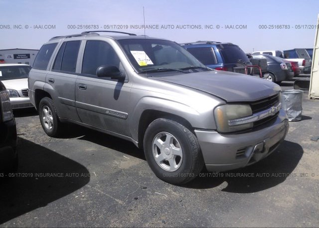 Inventory #298176802 2002 Chevrolet TRAILBLAZER