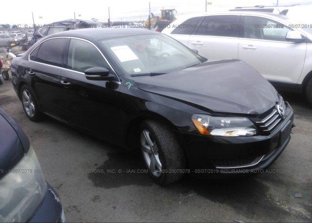 Inventory #350237527 2013 Volkswagen PASSAT
