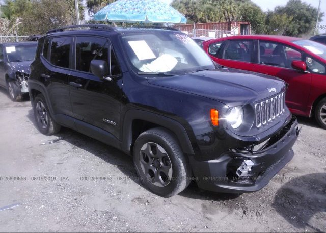 Inventory #701578371 2017 JEEP RENEGADE