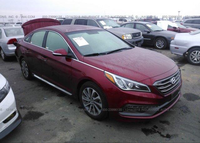 Inventory #347317659 2015 Hyundai SONATA