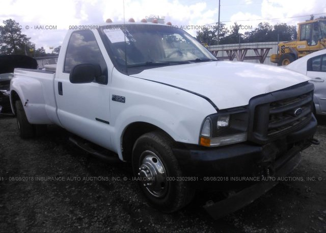 Inventory #522723206 2002 FORD F350