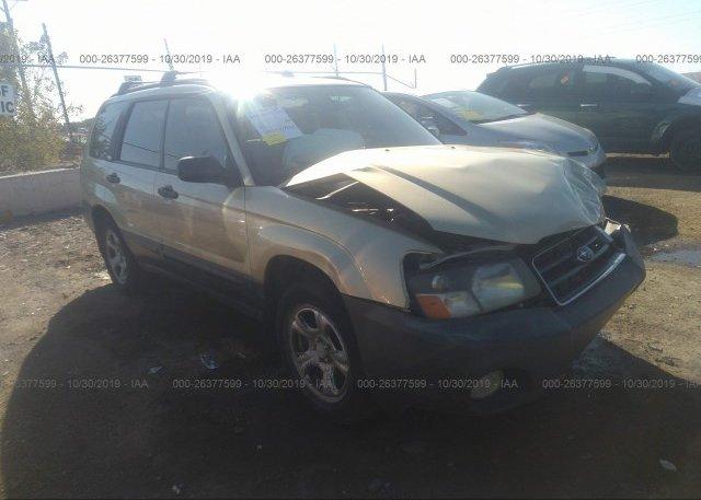 Inventory #595243299 2003 Subaru FORESTER