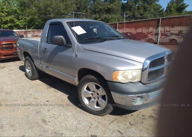 Inventory #603372590 2003 Dodge RAM 1500