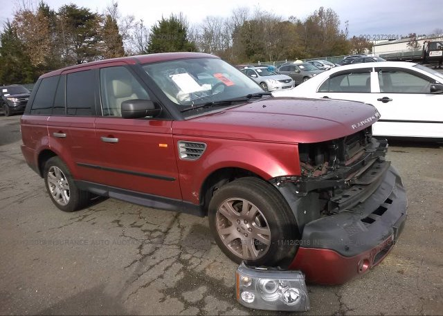Inventory #505977095 2006 Land Rover RANGE ROVER SPORT