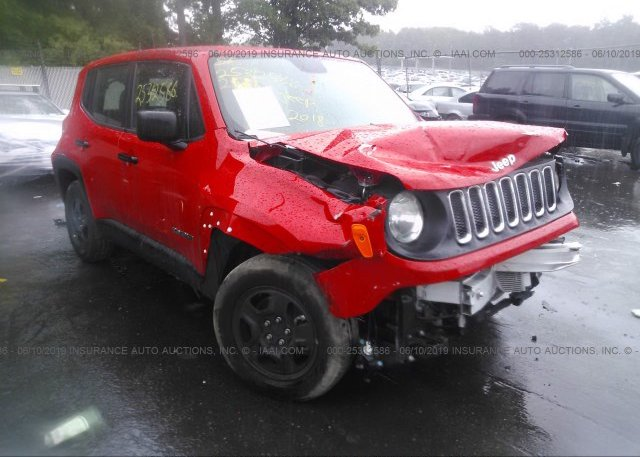 Inventory #842929866 2018 JEEP RENEGADE