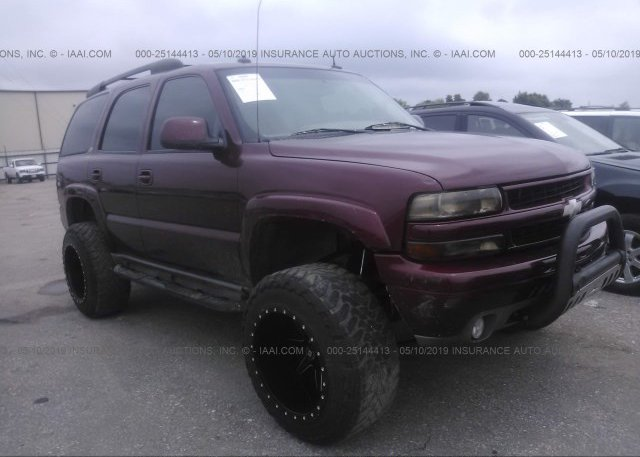Inventory #937765114 2003 Chevrolet TAHOE