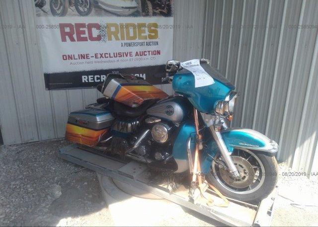 1HD1FFM12DB607132, Rebuildable black Harley-Davidson Flhtc