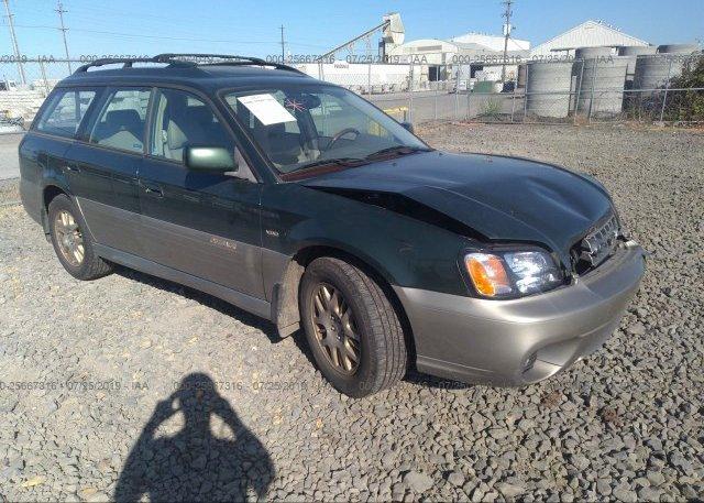 Inventory #854606340 2003 Subaru Legacy