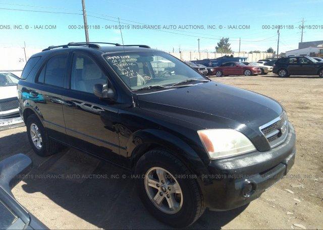 Inventory #431505259 2004 KIA SORENTO