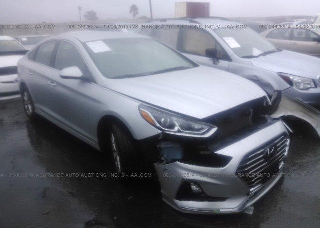 5npe24af2jh680465 Salvage Certificate Silver Hyundai Sonata At Los