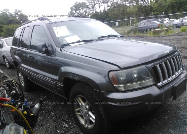 Inventory #874256351 2004 JEEP GRAND CHEROKEE