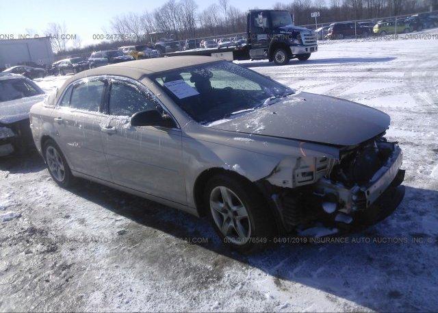 Inventory #842575156 2012 Chevrolet MALIBU