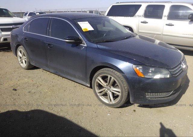 Inventory #752878367 2014 Volkswagen PASSAT