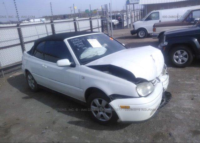 Inventory #823222425 2001 Volkswagen CABRIO