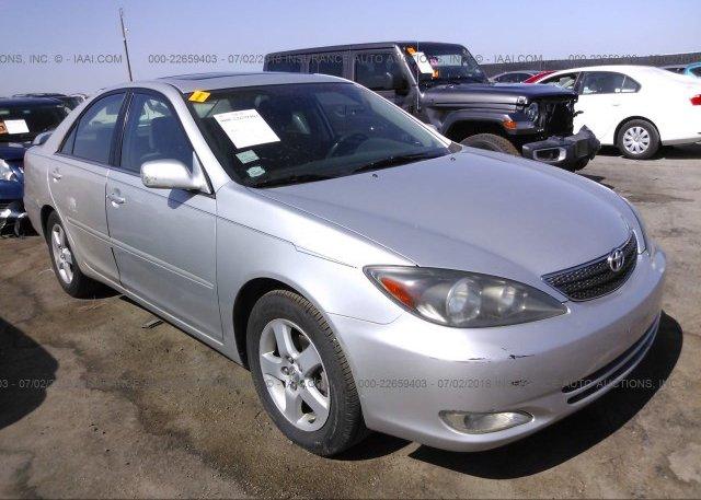Inventory #312077772 2003 Toyota CAMRY