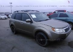 2009 Subaru FORESTER - JF2SH63629H701627 Left View