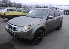 2009 Subaru FORESTER - JF2SH63629H701627 Right View