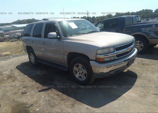 Inventory #479536975 2006 Chevrolet TAHOE