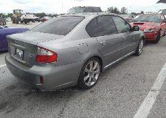 2008 Subaru LEGACY - 4S3BL856984206451 rear view