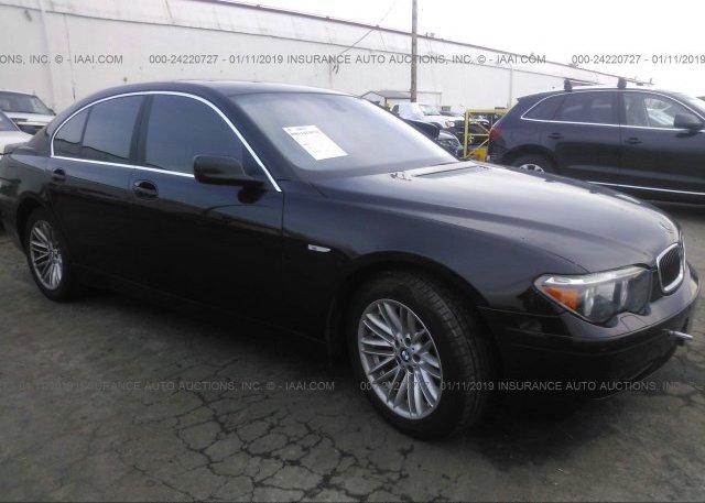 Inventory #639204575 2004 BMW 745