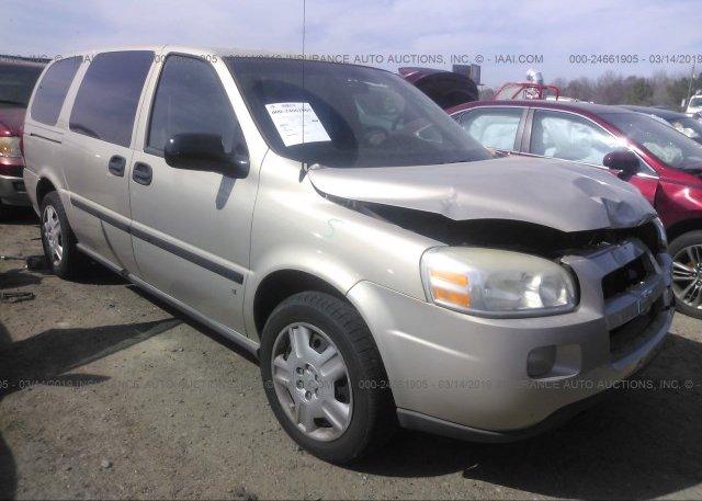 Inventory #929375394 2007 Chevrolet UPLANDER