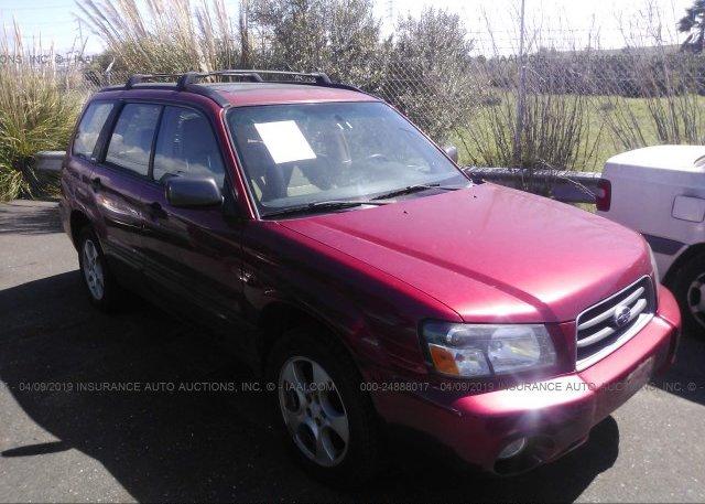 Inventory #849073895 2003 Subaru FORESTER