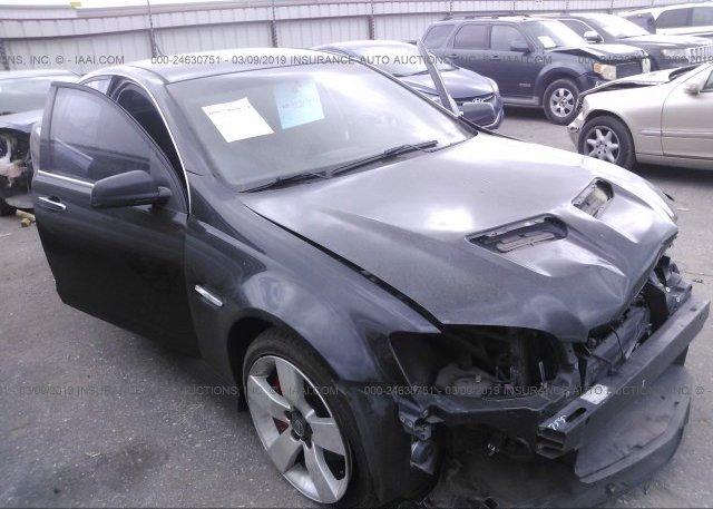 Inventory #761014328 2009 Pontiac G8