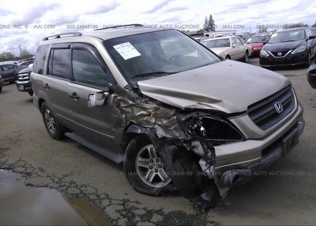 Inventory #127965700 2005 Honda PILOT