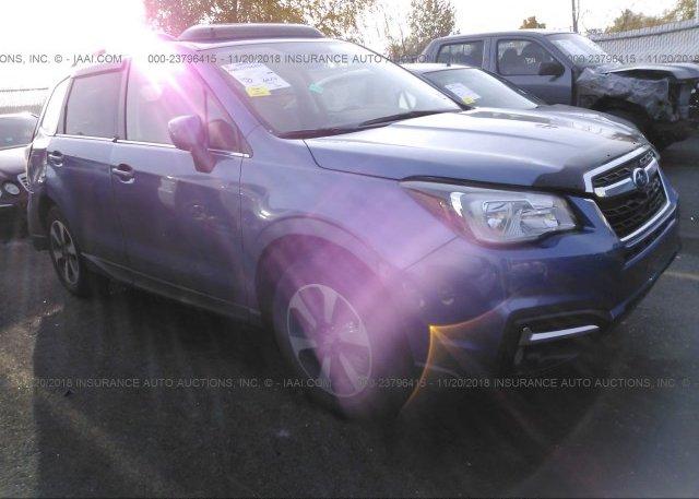 Inventory #541182398 2018 Subaru FORESTER
