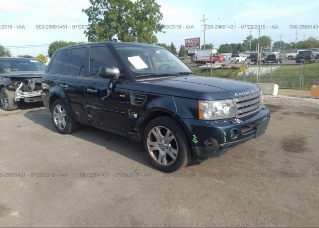 Inventory #985385423 2006 Land Rover RANGE ROVER SPORT