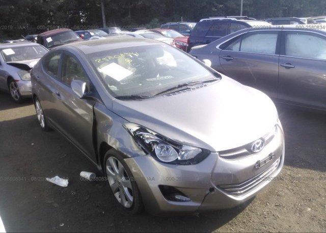 Inventory #656713315 2011 Hyundai ELANTRA