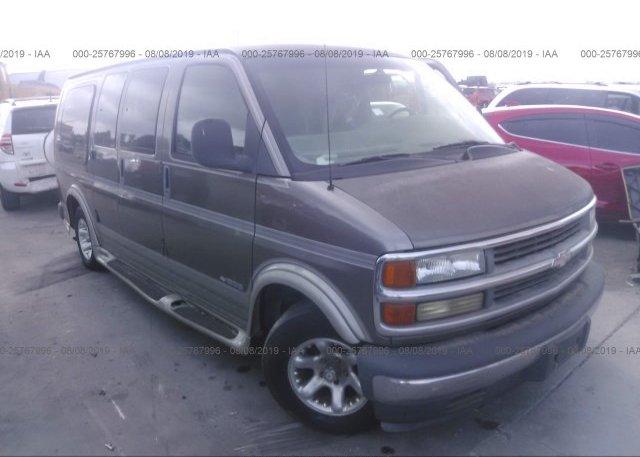 Inventory #189362515 2001 Chevrolet EXPRESS G1500